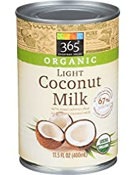 365 Everyday Value, Organic Light Coconut Milk, 13.5 fl oz