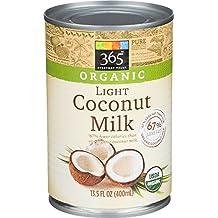 365 Everyday Value, Organic Light Coconut Milk, 13.5 Ounce