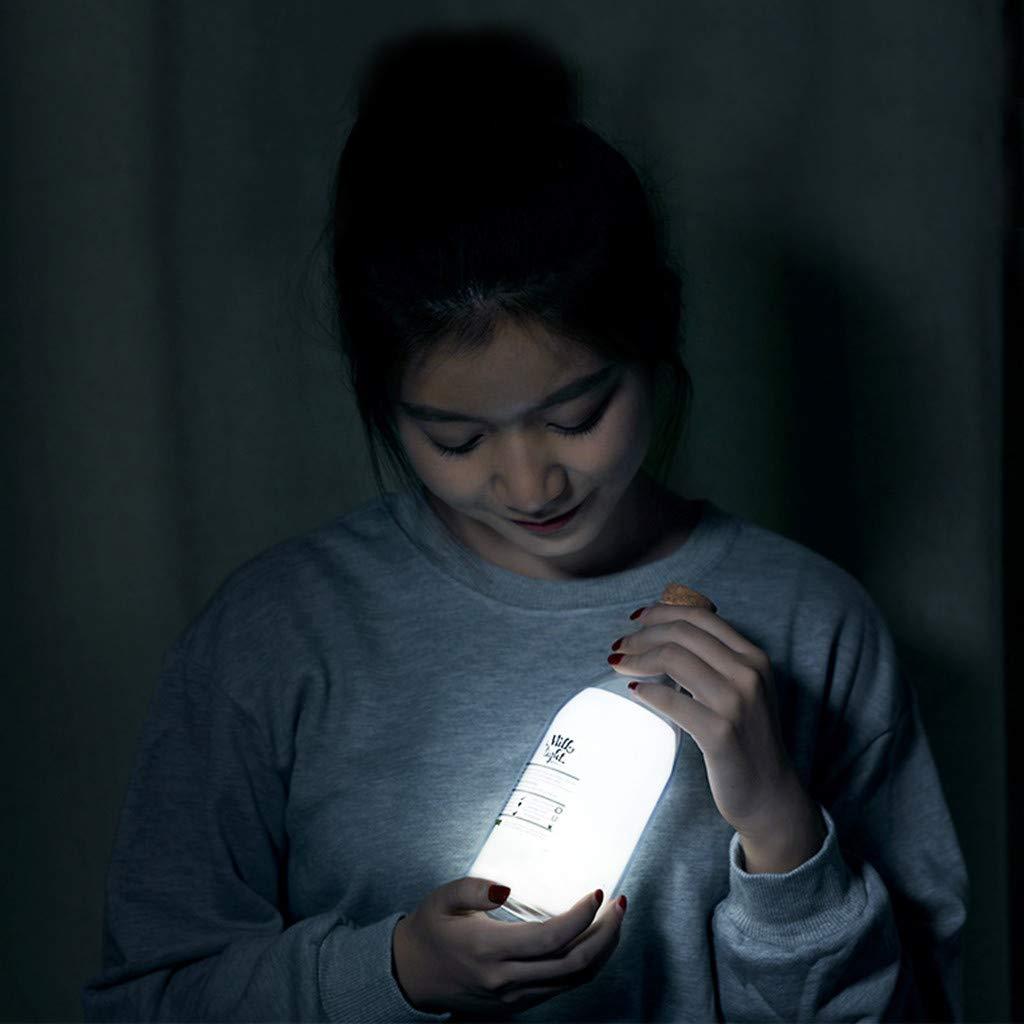 Ugood 1PC Light USB Message Sleep Timing Mode LED DIY Lamp for Decor Night House Party
