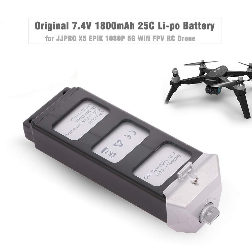 Goolsky JJR/C 7.4V 1800mAh 25C Li-po batería para JJPRO X5 ...
