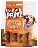 Sergeant's Pork Skin Twists 10-Count Dog Treat, My Pet Supplies