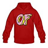 Men's Odd Future Donut Logo Hoodies Red M