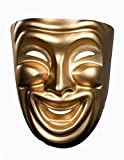 10474 (Comedy) Comedy Mask Smile Gold