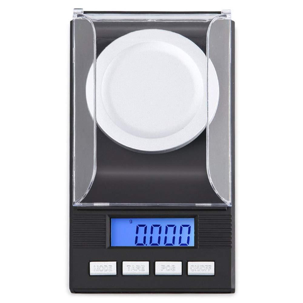 Feinwaage f/ür Schmuck M/ünzen Reload und K/üche 6 Modus Mini LCD-Taschenwaage mit Kalibriergewichte und Pinzetten Wiegeschale Xinxun Digital Taschenwaagen 0.001g x 50g
