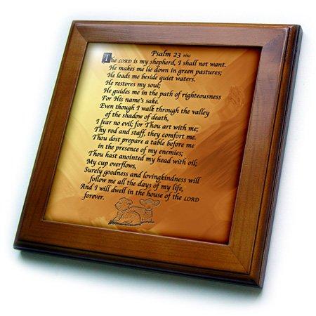 Psalm 23 Framed - 9