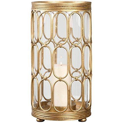 Uttermost 19879 Sosi Candleholder, Gold by Uttermost