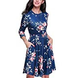 YunZyun Women'S Large Size Solid Color Short-Sleeved Dress Large Size Evening Dress Loose Dress