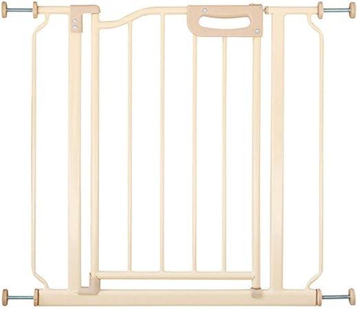 QIANDA Barrera de Seguridad Bebé Puerta de la Escalera Encaja Puertas/Pasillos/Escalera Pared Fija Metal Extensible Instalación Fácil, Ancho 60-90cm (Size : 68-81cm): Amazon.es: Hogar