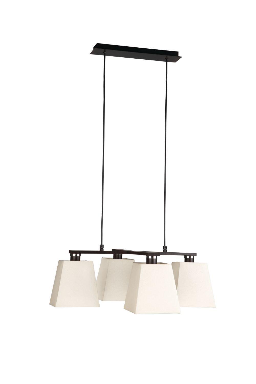 Massive 376958610 óxido Kiera 4 x 40 W lámpara de techo ...
