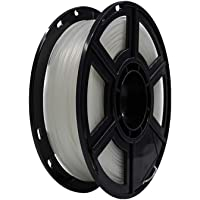 Flashforge® PLA 1.75mm 3D Printer Filaments 1kg Spool-Dimensional Accuracy +/- 0.05mm for Creator Series (Transparent)