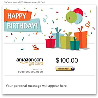 Amazon eGift Card - Happy Birthday (Presents) (B007V6ETDK) | Amazon price tracker / tracking, Amazon price history charts, Amazon price watches, Amazon price drop alerts