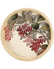 Cloudnola Botanical Epine Vinette Wanduhr, Kiefernholz, Einheitsgröße