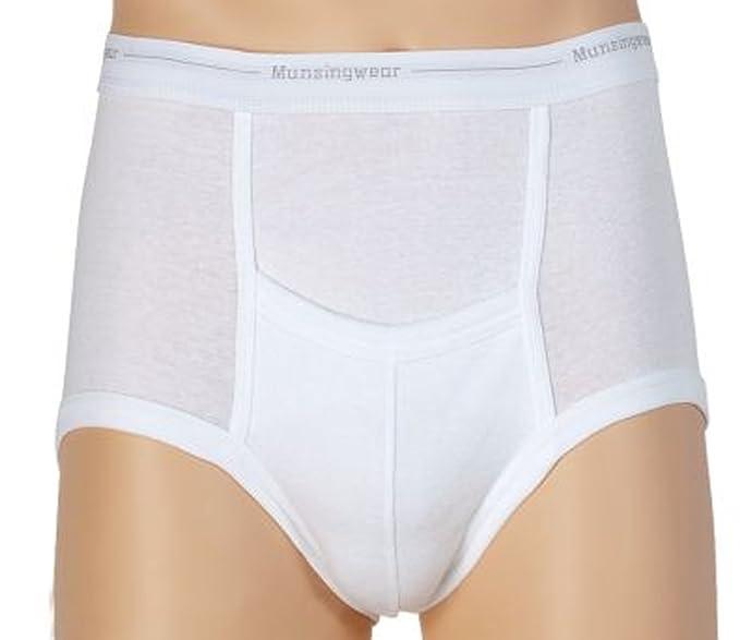 3b472346321b6f Amazon.com: Munsingwear - Big Mens 2 Pack Full Rise Briefs, White ...