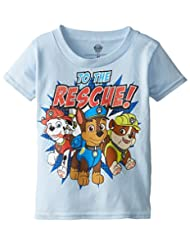 Paw Patrol Little Boys' To The Rescue Toddler Boys T-Shirt
