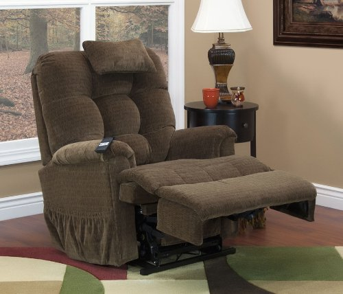 Med Lift 5555 Full Sleeper Lift Chair (Cabo Havanna Fabric)