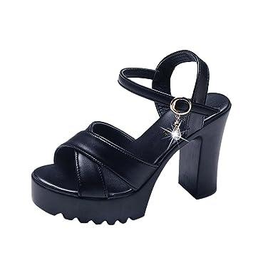 65b9f97f1ab30 Clearance!!! Sunday Women Summer Fashion Soft High Heel Sandals Ladies Cute Wedges  Flip