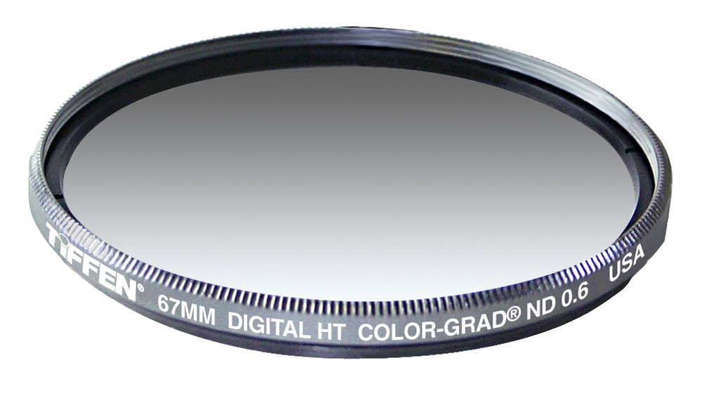 Tiffen 67HTCGND6 67MM Digital HT Grad ND 0.6 Titanium Filter