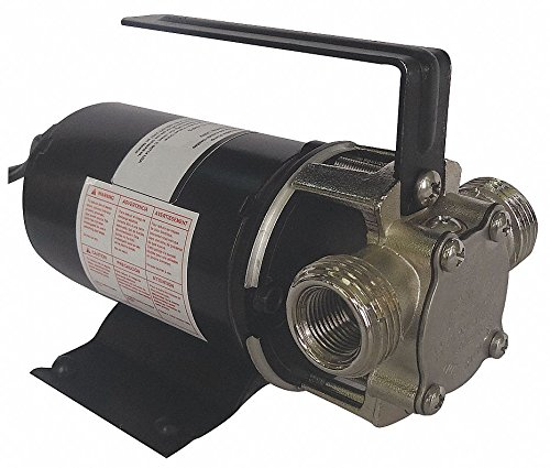 1/10 HP Stainless Steel Compact Flexible Impeller Utility Pump, Intermittent