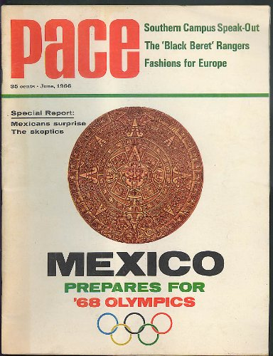 PACE 6 1966: Mexico Olympics; Black Berets; Jim Lefebvre; Sing-Outs in South (Olympic Beret)