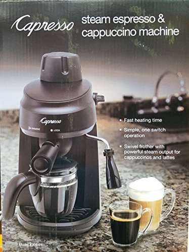Capresso Steam Espresso & Cappuccino Machine