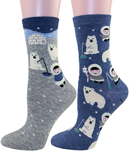 Carahere Womens Cotton Animal Patterned