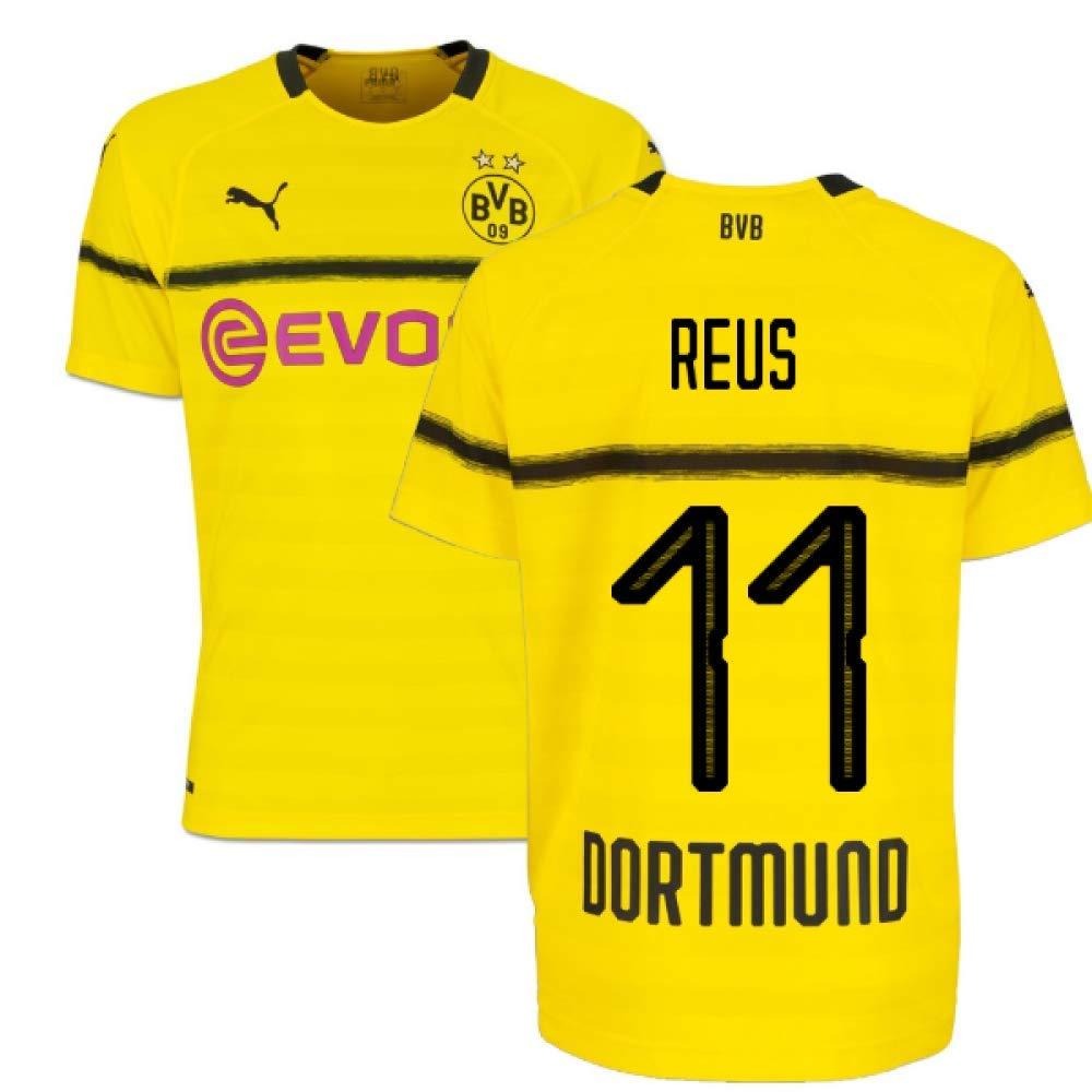 2018 19 Borussia Dortmund Home UCL Football Soccer T Shirt
