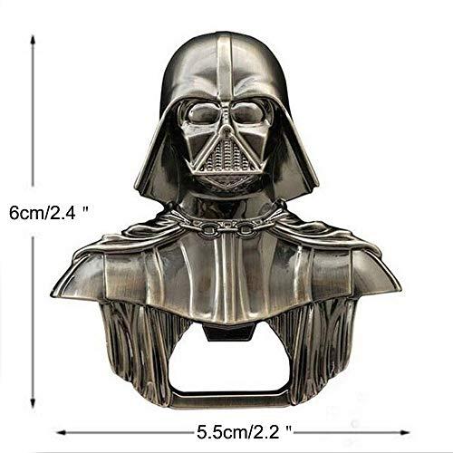 Star Wars Darth Vader Bottle Opener Keyring - Metal Wine & Beer Cap Opener...