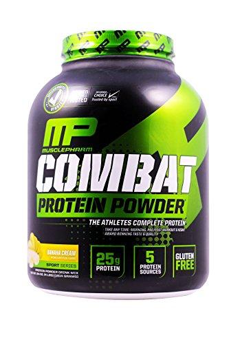 Muscle Pharm Combat Powder Banana Cream 4 Lbs (1814g)