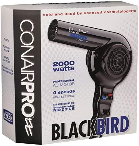 (Conair BB075W Pro Blackbird 2000-Watt Hair)