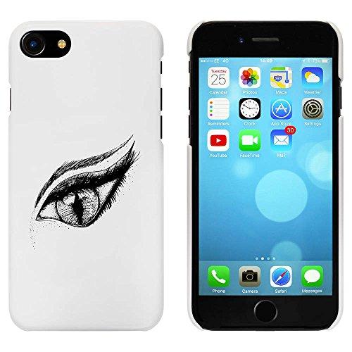 Blanc 'Oeil' étui / housse pour iPhone 7 (MC00065664)