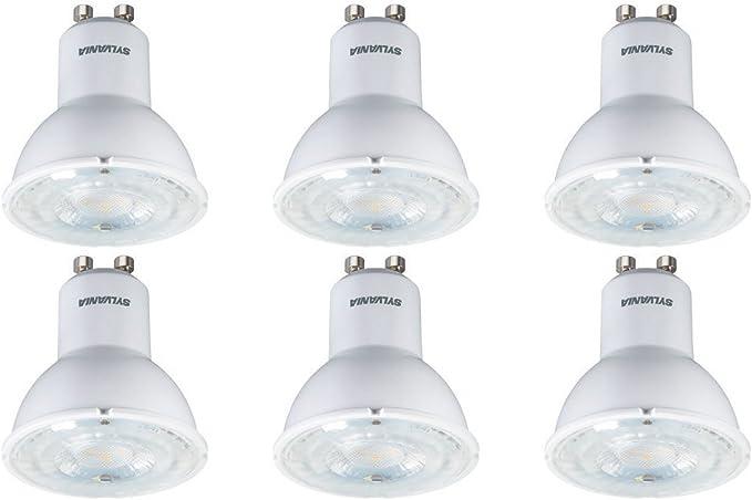Pack de 6 x Sylvania 0028434 RefLED ES50 – Foco LED de luz ...