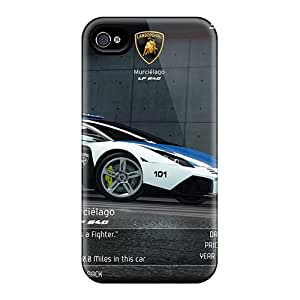 KarenJohnston Scratch-free Phone Case For Iphone 4/4s- Retail Packaging - Lamborghini Murcielargo Lp640