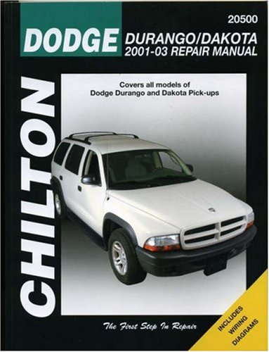 dodge-durango-dakota-2001-2003-repair-manual-chilton-total-car-care-series-manuals