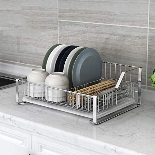 WT Storage racks Dish Drying Rack,Rustproof Stainless Steel