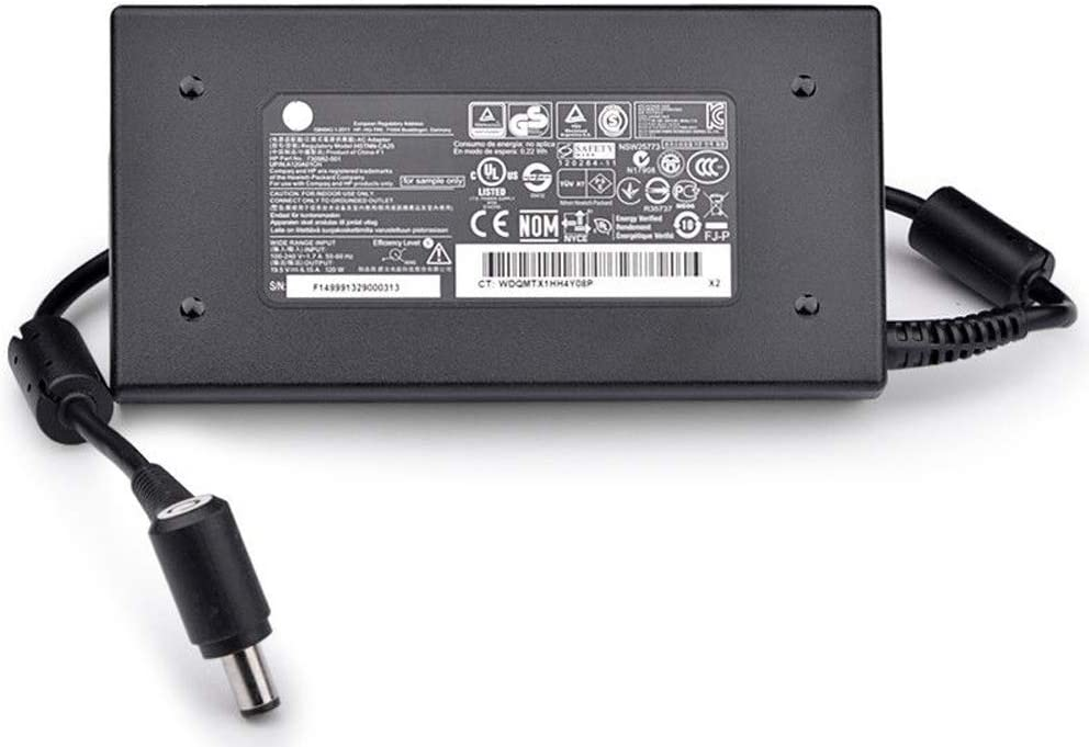 NEW Genuine HP Smart 120W AC Adapter Power Charger HP ENVY 644699-001 645156-001