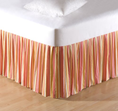 C&F Home 89174.3976 Multi Coral Stripes Bed