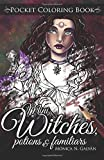 Mini Witches, Potions and Familiars: Pocket Coloring Book: Volume 6 (Enchanted Colors)