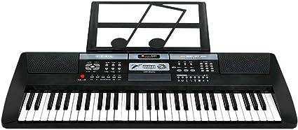 KYOKIM Teclado De Piano Electrónico con Pantalla Digital De ...