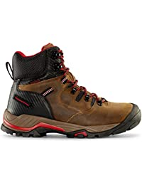 Men's Waterproof Work Boots for Industrial Construction Utility Outdoors