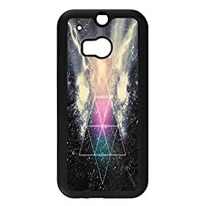 Well-selling Nice Starry Sky Phone Case Cover For Htc One M8 Stars Design