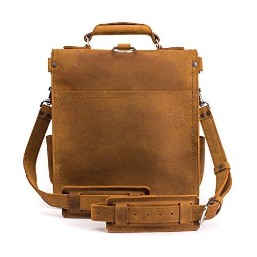 Saddleback Leather Co Front Pocket Leather Messenger