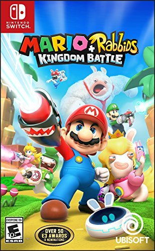 Mario + Rabbids Kingdom Battle - Nintendo Switch Standard Edition (New Super Mario Bros U All Bosses)