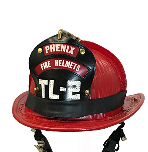 LINE2design Firefighter Helmet Bands - Heavy Duty Rubber Helmet Band Fits For Modern & Traditional Style Fire Helmets Pack of 3 - Black ()
