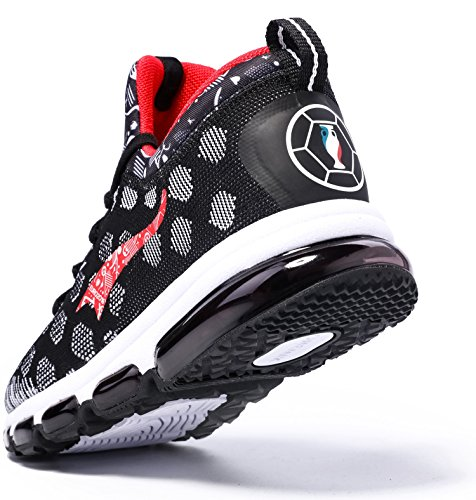ONEMIX Zapatillas Deportivas Hombre Mujer Gimnasio Correr Running Deportes Negro