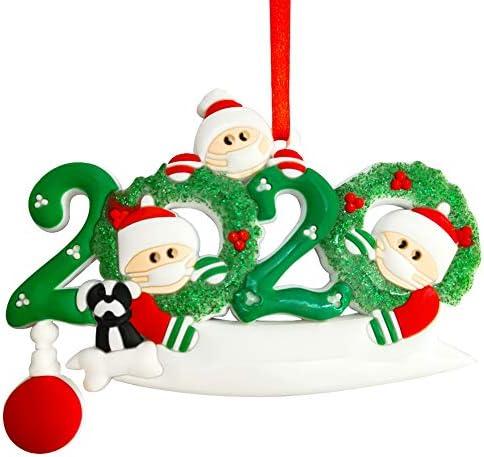 ZCZY 2020 Decorazione Natalizia, Ornamenti di Natale Decorazioni, Regalo Creativo