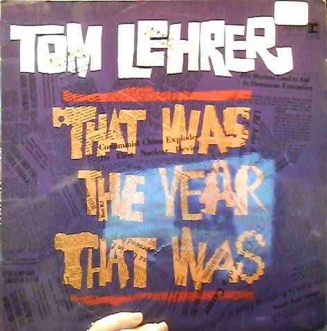 Tom Lehrer: That Was The Year That Was [VINYL LP] [MONO]