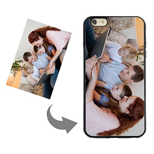 Customize Your Own Phone Case - Personalized Photo/Text/Logo Back Cover Case for iPhone 6 Plus/6s Plus,Birthday/Xmas/Valentines Gift for Her and Him (I Phone 5s Create Your Own Case)