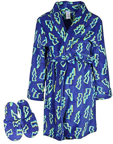 Too Cool 2 Sleep Boys Printed Robe Slippers,