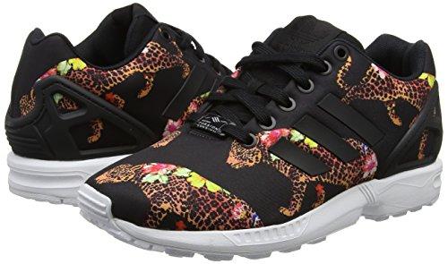Black White Zx core Multicolore Black core ftwr Adidas Flux Sneaker Donna dPYq14cBw