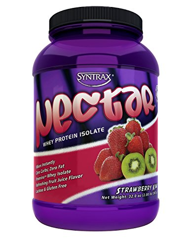 Syntrax Nectar Roadside (Syntrax Nectar 2lb Protein Powder Bottle - Strawberry Kiwi)